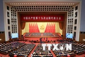 Đại hội XIX Trung Quốc thông qua dự thảo sửa đổi Điều lệ Đảng