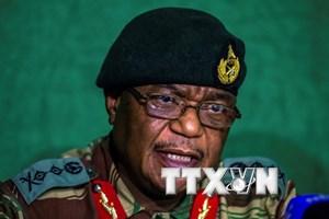 Cựu tư lệnh cầm đầu binh biến nhậm chức Phó Tổng thống Zimbabwe