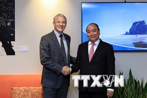 [Photo] Hoạt động của Thủ tướng Nguyễn Xuân Phúc tại New Zealand