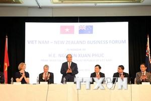 Thủ tướng Chính phủ dự Diễn đàn Doanh nghiệp Việt Nam-New Zealand
