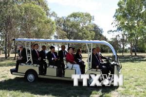 [Photo] Hoạt động của Thủ tướng Nguyễn Xuân Phúc tại Australia
