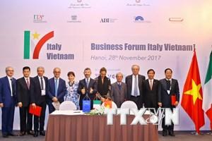 Quan hệ Việt Nam-Italy đang trong giai đoạn sôi động nhất
