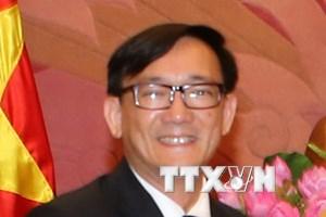 Trao Kỷ niệm chương Vì hòa bình tặng Đại sứ Thái Lan tại Việt Nam