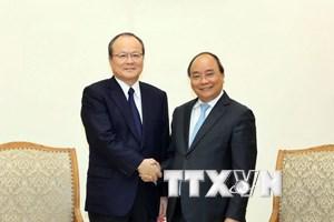 Thủ tướng Nguyễn Xuân Phúc tiếp Lãnh đạo Tập đoàn Mitsubishi