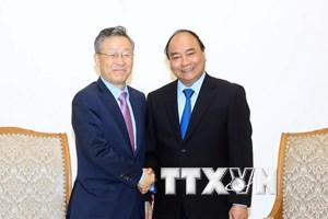 Thủ tướng tiếp cựu Bộ trưởng Điều phối chính sách Hàn Quốc