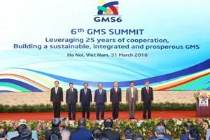 Tuyên bố chung Hội nghị Thượng đỉnh Tiểu vùng Mekong mở rộng lần thứ 6