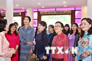 Phu nhân lãnh đạo GMS tìm hiểu văn hóa, đời sống của phụ nữ Việt Nam