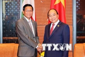 Thủ tướng Nguyễn Xuân Phúc tiếp Phó Tổng thống Myanmar