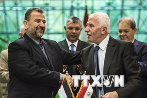 Ai Cập thúc đẩy tiến trình hòa giải giữa Hamas và Fatah