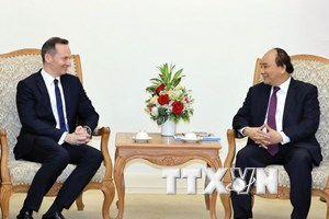 Thủ tướng tiếp Phó Thủ hiến bang Rheinland-Pfalz của CHLB Đức