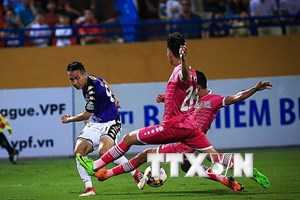 Câu lạc bộ Hà Nội bị cầm chân 1-1 ngay tại sân nhà Hàng Đẫy