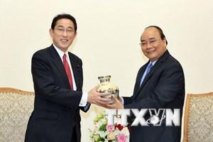 Việt Nam coi Nhật Bản là đối tác quan trọng hàng đầu và lâu dài