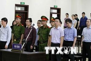 Bị cáo Trịnh Xuân Thanh rút đơn kháng cáo trước phiên phúc thẩm