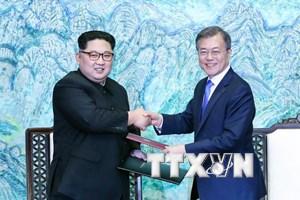 Ông Kim Jong-un muốn thiết lập hòa bình lâu dài trên Bán đảo Tiều Tiên