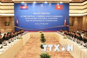 Việt Nam-Campuchia đã hoàn thành 84% việc cắm mốc biên giới