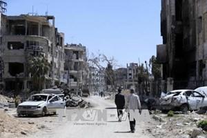 Syria cáo buộc Mỹ lên kế hoạch dàn dựng việc sử dụng vũ khí hóa học