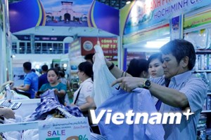Khai mạc Hội chợ thương mại Việt-Lào 2018 tại thủ đô Vientiane