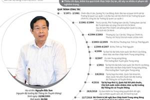 Quá trình công tác và những sai phạm của ông Nguyễn Bắc Son