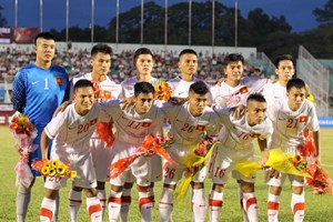 SEA Games 27: Việt Nam cùng bảng Malaysia, Singapore