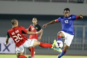 """Nhà vô địch U23 Malaysia nhọc nhằn """"vượt ải"""" Brunei"""