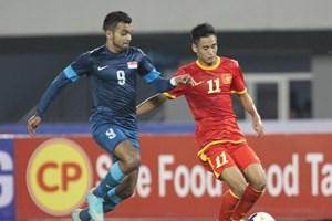 Thua U23 Singapore, U23 Việt Nam đánh mất ngôi đầu