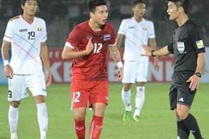 Hòa U23 Myanmar, U23 Thái Lan chắc vé vào bán kết