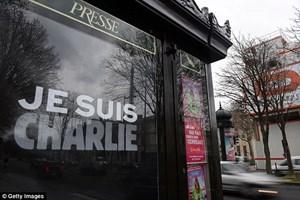 Lễ hội truyện tranh hàng đầu tôn vinh tạp chí Charlie Hebdo