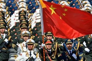 """Lính Trung Quốc tập """"tới kiệt sức"""" để chuẩn bị cho lễ duyệt binh"""