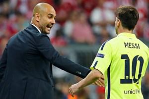 """Pep Guardiola: """"Lionel Messi là cầu thủ hay nhất mọi thời đại"""""""