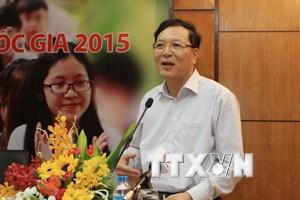 Bộ trưởng Giáo dục: Học sinh lo lắng khi đăng ký là điều cần thiết