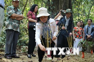 Thông tấn xã Việt Nam tri ân người dân vùng Chiến khu Đ-Đồng Nai