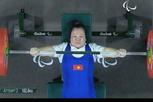 Đặng Thị Linh Phượng giành huy chương đồng tại Paralympic 2016