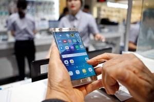 Samsung tung bản cập nhật vô hiệu hóa điện thoại Galaxy Note 7