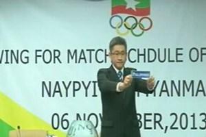 "Clip Philippines ""sốc"" với kết quả bốc thăm SEA Games"