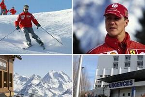 Tay đua F1 Michael Schumacher vẫn hôn mê sau tai nạn