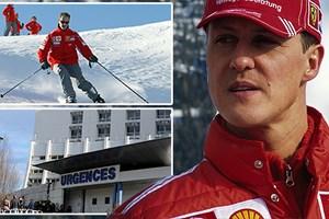 Thông tin mới nhất về tình hình sức khỏe của Schumacher
