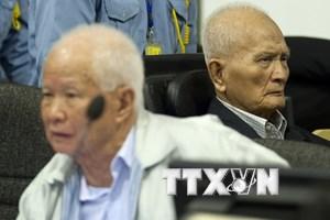 [Infographics] Xét xử 2 cựu lãnh đạo cấp cao chế độ Khmer Đỏ