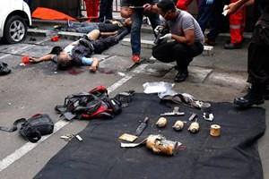 Xác minh thông tin về vũ khí trong vụ đánh bom tại Jakarta