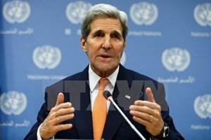 Ngoại trưởng Mỹ nỗ lực xoa dịu căng thẳng Saudi Arabia-Iran