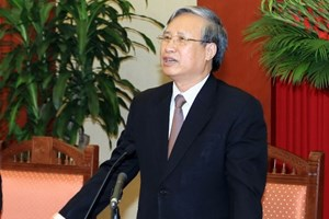 Tiểu sử Ủy viên Bộ Chính trị khóa XII Trần Quốc Vượng