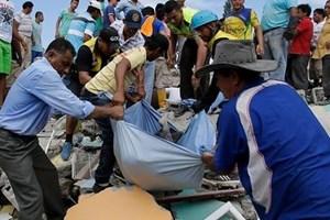 [Video] Số người thiệt mạng trong vụ động đất ở Ecuador tăng cao