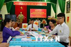 Tỉnh Sơn La công bố kết quả bầu cử đại biểu Hội đồng Nhân dân