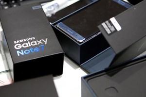 Samsung thu hồi trên 90% điện thoại Note 7 ở Hàn Quốc, EU và Mỹ