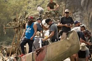 """Hé lộ hình ảnh hậu trường cảnh quay """"Kong: Skull Island"""" ở Việt Nam"""