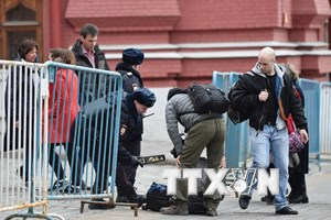 Nga bắt 8 đối tượng tình nghi trong vụ tấn công tàu điện ngầm