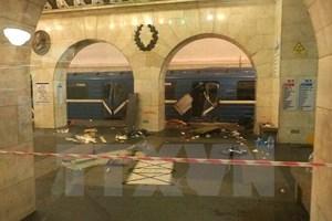 Nga: Nhóm khủng bố ở Thổ Nhĩ Kỳ tài trợ vụ tấn công St.Petersburg