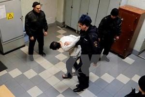 Nga bắt thêm nghi can đánh bom ga tàu điện ngầm ở St.Petersburg