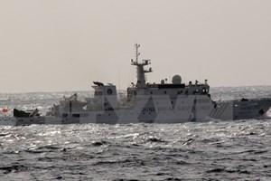 Các tàu của Trung Quốc lại đi vào khu vực lãnh hải Nhật Bản