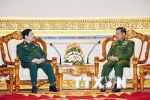 Thúc đẩy quan hệ quốc phòng Việt Nam-Myanmar đi vào chiều sâu