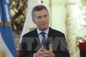 Tổng thống Argentina từng yêu cầu tập trận cứu hộ tàu ngầm